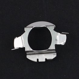 $enCountryForm.capitalKeyWord Australia - H7 HID Xenon Kit Bulb Conversion Metal Base Holder Adapter Clips for VW Bora Xenon HID H7 Converters Adaptor for VW Bora