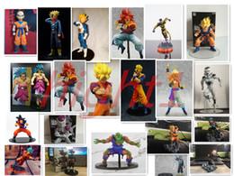 Doll vegeta online shopping - Dragon Ball Z Vegeta Trunks Son Goku Gohan Cell Frieza PVC Action Figures DRAMATIC SHOWCASE Model Toy Doll Figuras
