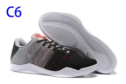 another chance 2ec3e 49c0c 2019 Cheap New shoe Man Kobe 11 Elite Men Basketball Shoes Kobe 11 Red  Horse Oreo Sneakers KB 11 Sports Sneakers With Shoes Box xz102