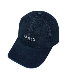 878d9bdf7f0 Baseball Caps Unisex2018 New Fashion Women Men Jeans Denim Baseball Cap  Adjustable Snapback Hip Hop Flat Hat Cap  J21