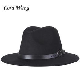 Frete grátis 2018 novos homens Moda fedoras moda feminina jazz chapéu verão  primavera preto mistura de lã cap chapéu casual ao ar livre a28622a5269
