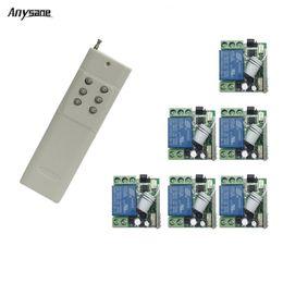 $enCountryForm.capitalKeyWord NZ - RF 433mhz wireless remote control 6CH emitter 3000m long range learning EV1527 telecomando DC12V RF relay receiver Radio Switch