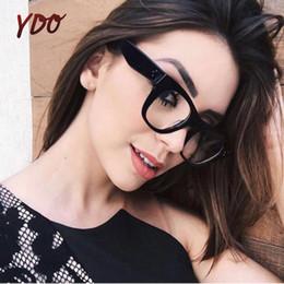 c980ebce665c3 YDO New Transparente Óculos de Armação Mulheres 2018 Moda Claro Lens Grau  Óculos Optical Eye Computer Reading Mulher Óculos