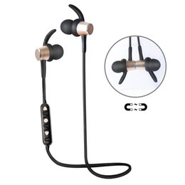 wireless noise cancelling ear headphones UK - OKCSC HT6 Wireless Bluetooth Headphone, Bluetooth 4.2 Sports Stereo In-ear Headsets Noise Cancelling Earbuds for IOS Android DHL Free