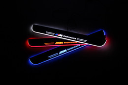 $enCountryForm.capitalKeyWord NZ - Waterproof Acrylic Moving LED Welcome Pedal Car Scuff Plate Pedal Door Sill Pathway Light For BMW Z4 E89 2009 - 2012 2013