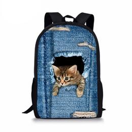 f07c341ef952 Shop 3d Cat Backpack UK | 3d Cat Backpack free delivery to UK ...