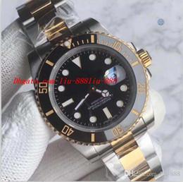 58c71e3385d Luxury Watch Best V7 Version Two-Tone 18K Gold 116613 Ceramic Bezel Eta  2836 Or 3135 Movement Auto Date Men Dive Sport Watch