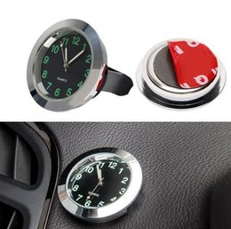 Discount auto clocks car - Car Quartz Clock Automobile Decoration Watch Ornaments Vehicle Auto Interior Watch Digital Pointer Air Conditioning Outl