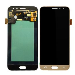 samsung tools NZ - Tested LCD Display For Samsung Galaxy J300 J3 2015 LCD Screen with Tools Brightness is not adjustable.free DHL assembly