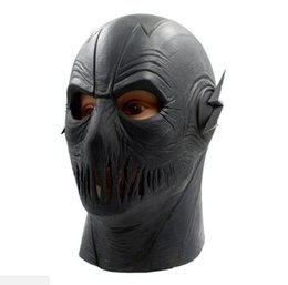 $enCountryForm.capitalKeyWord UK - MostaShow The Flash Mask Costume Cosplay Easter Halloween Full Face Latex Head Mask Helmet Hood Party Masquerade Masks