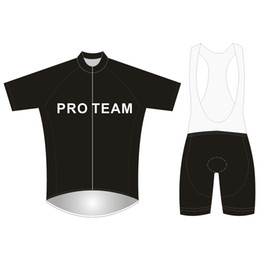 e8546c376 Brand Pro Team Cycling Jersey Set Football Mesh Short Sleeve Bicycle  Clothing 3D Gel Pad Bikes Clothes Maillot Ciclismo PT-NAME