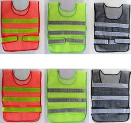 $enCountryForm.capitalKeyWord NZ - New Safety Clothing Reflective Vest Hollow Grid Vest High Visibility Warning Safety Working Construction Traffic Vest