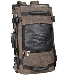 Marken-Design Herren Reisetaschen Mode Männer Rucksäcke Männer Mehrzweck-Reise-Rucksack Multifunktions-Umhängetasche