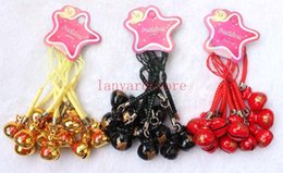 Strap Neko Australia - Multi style mixing A blessing bag Small bell Cute Neko Charm Lucky Cell Phone Strap Pendant Party gifts
