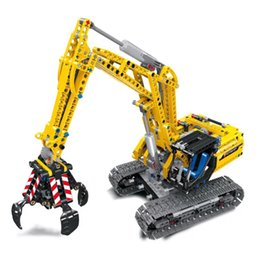$enCountryForm.capitalKeyWord UK - Science and Technology Machinery double variable excavator DIY small granular Building blocks assembling Toys