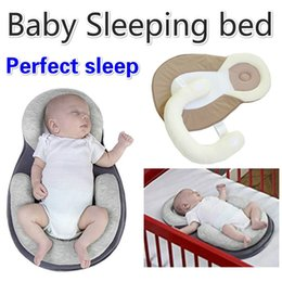 $enCountryForm.capitalKeyWord NZ - Baby Pillow New Born Infant Sleep Positioner Prevent Flat Head Shape Anti Roll Pillow U-shape Baby Sleeping Warm Bed Mattress
