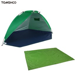 Chinese  TOMSHOO Outdoor Camping Gear Kit Sleeping Mat Garden Picnic Grass Blanket+ Summer UV Protection Tent Moisture Proof Waterproof manufacturers