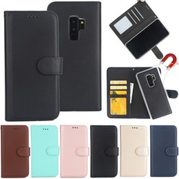 $enCountryForm.capitalKeyWord NZ - Matnetic Removable 2 in 1 Wallet PU Leather Case For iPhone XR XS Max X 8 7 6 Samsung S6 S7 Edge S8 S9 S10 Plus S10e Note 9 A6 A7 A9 2018