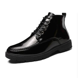 Punk shoes mens black online shopping - Designer Motorcycle Boots For Men Good Quality Autumn Casual Male Shoes Black Ankle Military punk Boots Men Fashion Mens Boots