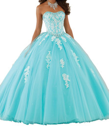 Chinese  Elegant Strapless Women Quinceanera Dress Ball Gowns Soft Tulle Debutante Dresses For Sweet Girls Hot Backless Appliques Party Gowns HY4063 manufacturers