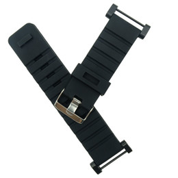 watch adapter UK - For Suunto Core Traverse Watch Band Strap Rubber Watchband 24MM +1 set Adapters +Tools