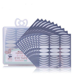 double eyelid strip Australia - 270pcs double Eyelid Tape Invisible Double Fold Eyelid Shadow Sticker Natural Makeup Clear Eyelid Strip Eyes Make Up Tool DHL free shipping
