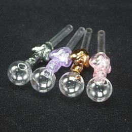 Girl Bongs NZ - Colorful Tobacco Pipes Glass Oil Burner Glass Pipes With Girl Body Design Dry Smoking Pipes For Beaker Bong DHL Free