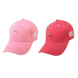 Fruit baseball cap online shopping - 200PCS Embroidery Fruit Baseball Cap  Lovely Candy Colors Men Women ec6ca010851