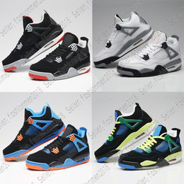 56365a499ee2 Discont Wholesale Men Shoes 4-5-6-7-8-11-12-13 Basketball Mens Cheap 4s  Authentic Online For Sale Sneakers Men Sport US 8-13 discount basketball  shoes for ...
