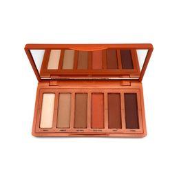 $enCountryForm.capitalKeyWord NZ - 2018 New Heat 6 color Eyeshadow Palette Professional Makeup Eye Shadow Palette high quality DHL free shipping