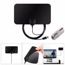 Крытый бесплатный цифровой ТВ антенна HDTV антенна ТВ радиус антенны Surf HD Fox УКВ УВЧ DVB-T2 аналоговые антенны усилитель