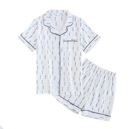 Ladies cotton pyjamas online shopping - New Style Cotton Shirt amp Shorts  Sleep Set For Female 9169ec2c2