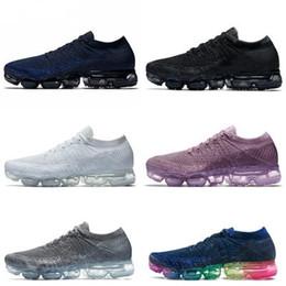 fb883772cc40 Vapormax 2018 Mens Running Shoes For Trainers Women Sports Shoes Human Race New  Vapor Wave Male Shoe Pink Triple Black Female Designer Shoes