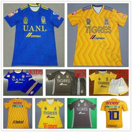 8be4911d631 2019 TIGRES DE LA UANL Soccer Jersey 18 19 LIGA MX Maillot De Foot Home  Yellow Blue Black 6 Stars GIGNAC Football Shirt
