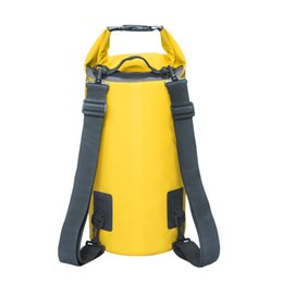 6baad35ddc1e 15L 20L Swimming Waterproof Bags Storage Dry Sack Bag For Canoe Kayak  Rafting Outdoor Sport Bags Travel Kit Equipment