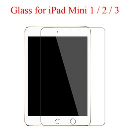 $enCountryForm.capitalKeyWord Australia - Cleaning Wipe + Tempered Glass Screen Film Protector for iPad Mini 2 3 Mini4 Screen Guard Cover for iPad Mini 4 Mini2 iPadmini