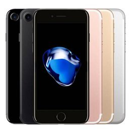 Chinese  Refurbished Original Apple iPhone 7 4.7 inch Fingerprint iOS A10 Quad Core 2GB RAM 32 128 256GB ROM 12MP Unlocked 4G LTE Phone DHL 10pcs manufacturers