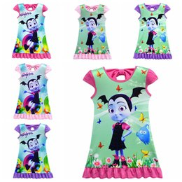 419dfbedf BaBy night dress online shopping - 6 designs Vampirina girls dresses years  old kids baby girls