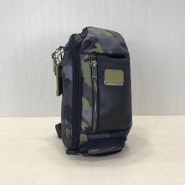 Man sMall business bag online shopping - Ballistic nylon tumi men s small bag shoulder bag business casual backpack Messenger bag chest bags pocket