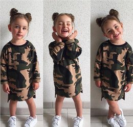 military camouflage clothing NZ - Designer Camouflage Baby Clothes Kids Clothing ins Girls Summer Jumpsuit Boys Girls Infant Pajamas Clothes Styles Knee Length Dresses MC01