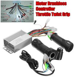 36V 350W провод твист дроссельной рукоятки с двигателем бесщеточный контроллер для Electirc скутер велосипед и электрический автомобиль