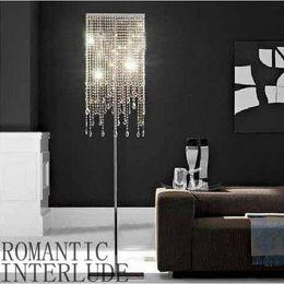 $enCountryForm.capitalKeyWord NZ - SVITZ Rectangular clear K9 Crystal floor light lampada for Showcase living room led floor lamp Hotel stand lamp commercial lighting