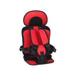 Siège de sécurité pour bébé Portable Siège de voiture pour bébé Chaises pour enfants Version mise à jour Éponge épaississante Sièges de voiture pour enfants en Solde