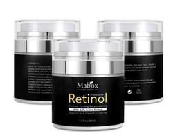 Face white cream online shopping - Retinol Moisturizer Face Cream Vitamin E Collagen Retin Anti Aging Wrinkles Acne Hyaluronic Acid Green Tea Whitening Cream