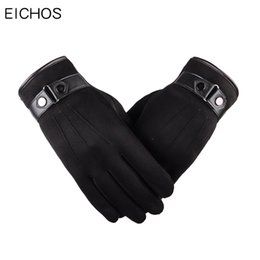$enCountryForm.capitalKeyWord UK - EICHOS 2018 New Cashmere Gloves Men Velvet Thicken Winter Touch Screen Gloves for iphone Mobile Phone Outdoor Driving
