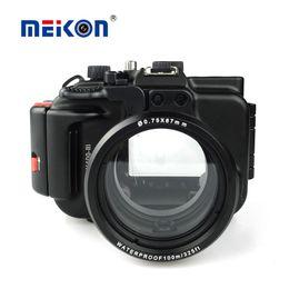 $enCountryForm.capitalKeyWord Australia - Meikon Aluminum camera housing for diving 100M 325ft underwater waterproof Aluminum camera case for Sony RX100 III   RX100 M3