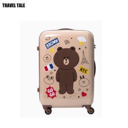 "$enCountryForm.capitalKeyWord Canada - TRAVEL TALE 20""24""inch spinner cabin luggage cute travel suitcase for girls"