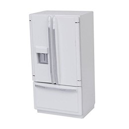 $enCountryForm.capitalKeyWord NZ - 1 12 Dollhouse Miniature Fridge Refrigerator White Doll House Furniture Accessories