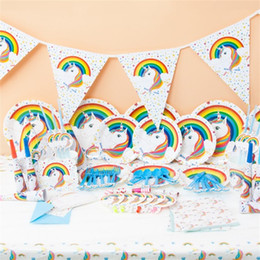 $enCountryForm.capitalKeyWord Canada - Party Arrangement Suit Rainbow Theme Holiday Prop Hand Made Children Birthday Supplies 16 Items Free Shipping 36 8kk V