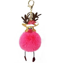 phone kid 2019 - Santa Claus Keychain Plush Keyring Kriss Kringle Cell Phone Bag Pendant Key Ring Home Decor Kids Toys cheap phone kid
